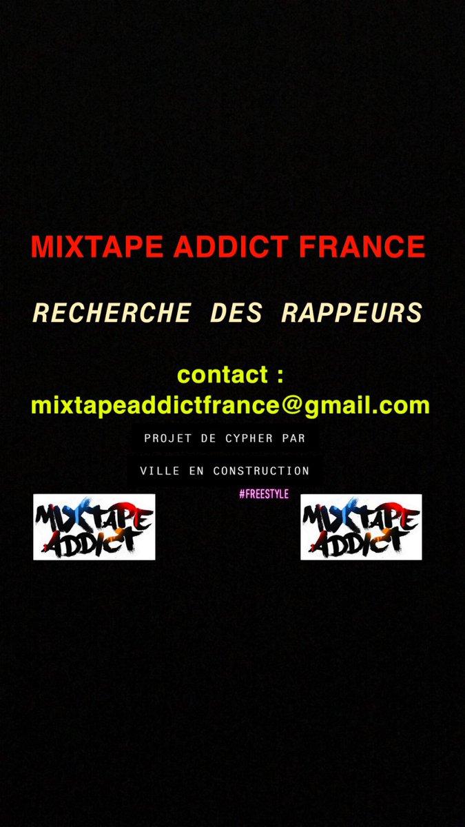 🚨🔥T'ES CHAUD ET TU VEUX EN SAVOIR PLUS ? 🔥🚨 Envoie un mail à : mixtapeaddictfrance@gmail.com #cypher #ville #rap #francais #freestyle #indé #mixtapeaddict #hiphop #music #france #newyork #boston #texas #neworleans #orleans #paris #tours #blois #nantes