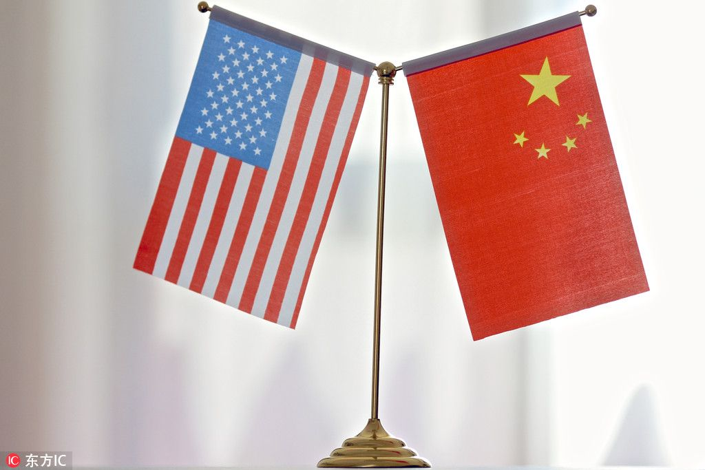 China's top representative in the trade talks, Liu He, will be back in Washington this week for round, what is it, nine? ten?  https://t.co/SF4oKvOvfC