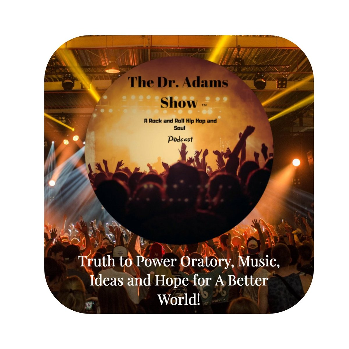 "The 1st Episode of ""The Dr. Adams Show"" formerly entitled The Rock and Roll Hip Hop and Soul Education Podcast goes live on iTunes at 8 am EST. #democracy #education #edchat # edtech #technology #music"