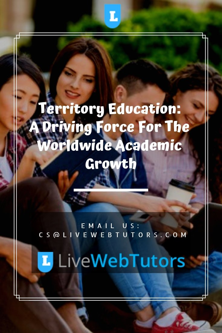 Territory #Education: A Driving #Force For The Worldwide #Academic Growth visit here:- https://bit.ly/2GRiUWW  #myassignmenthelp #assignmenthelp #Australia #USA #UK #NZ