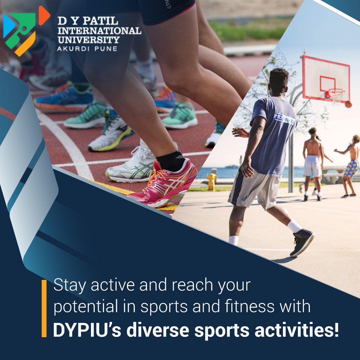 We at DYP International University believe that education, sports and fitness go hand in hand as it helps in maintaining the physical and mental equilibrium!  Find out more about our #CampusLife here: https://bit.ly/2N7W6n2  #DYPIU #Sports #Athletics #DYPIUAkurdi