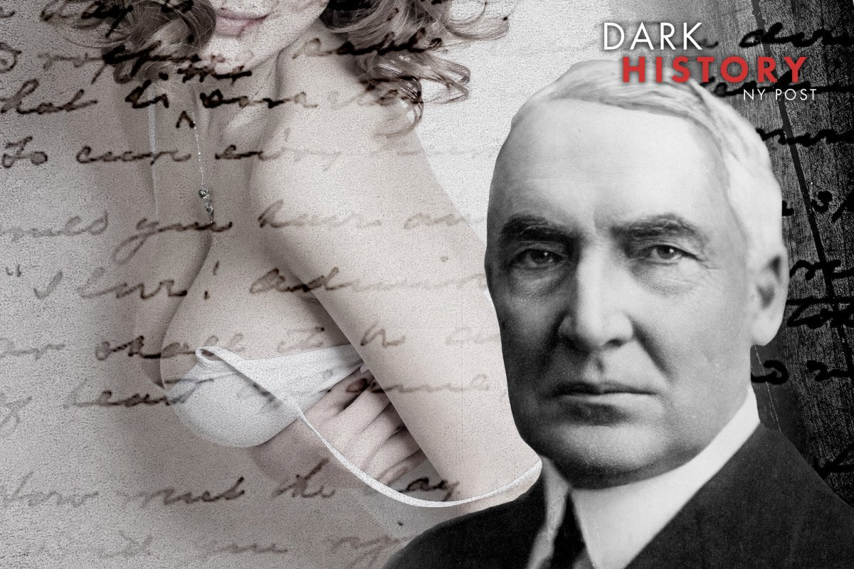 President Harding wrote about oral sex and masturbation in dirty letters https://nyp.st/2SJTVMs