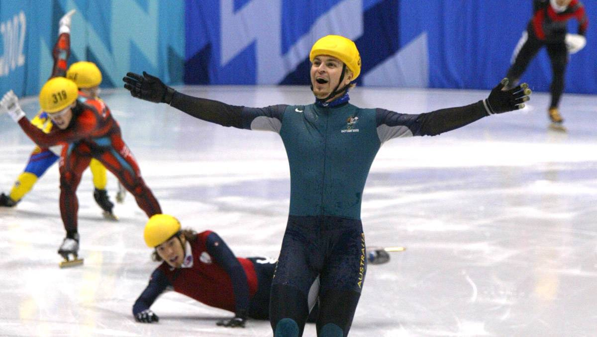 Wow! Aussie Olympic gold medallist Steven Bradbury has revealed a movie is being of his gold medal victory, with the script being written by a major Hollywood writer!   https://t.co/WlC2ik8Vg1    #Olympics