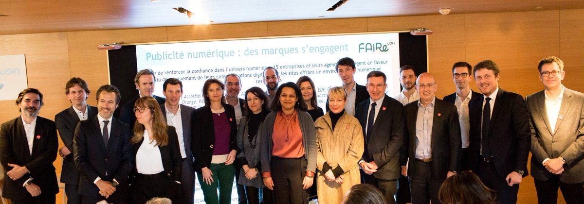 Le Groupe  Galeries Laf était très heureux d accueillir hier les  partenaires du programme  FAIRe de l  UDA annonceurs en présence de son  nouveau Président ... 80653798f39