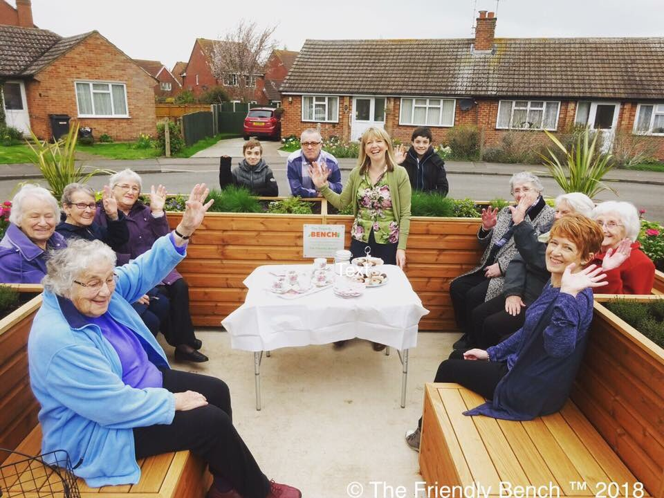 The Friendly Bench™'s photo on #ColdFeet