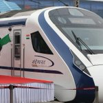 Image for the Tweet beginning: India's fastest train breaks down,