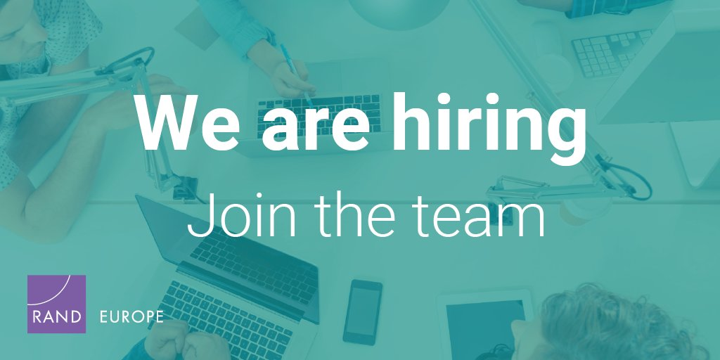 Want to use your research skills to support policy- and decision-making? We are seeking an Analyst to join our Home Affairs and Social Policy Research Group, to support our research in the fields of criminal justice, policing, drugs and illicit markets. http://ow.ly/tp8Z50lFlDA