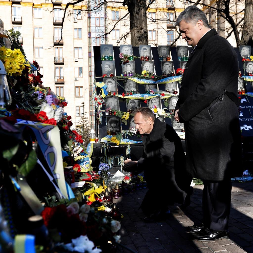 Ukrainians are an inspiration to us all. When necessary, heroes. When necessary, pragmatists with your feet firmly on the ground. #Maidan  #Kyiv