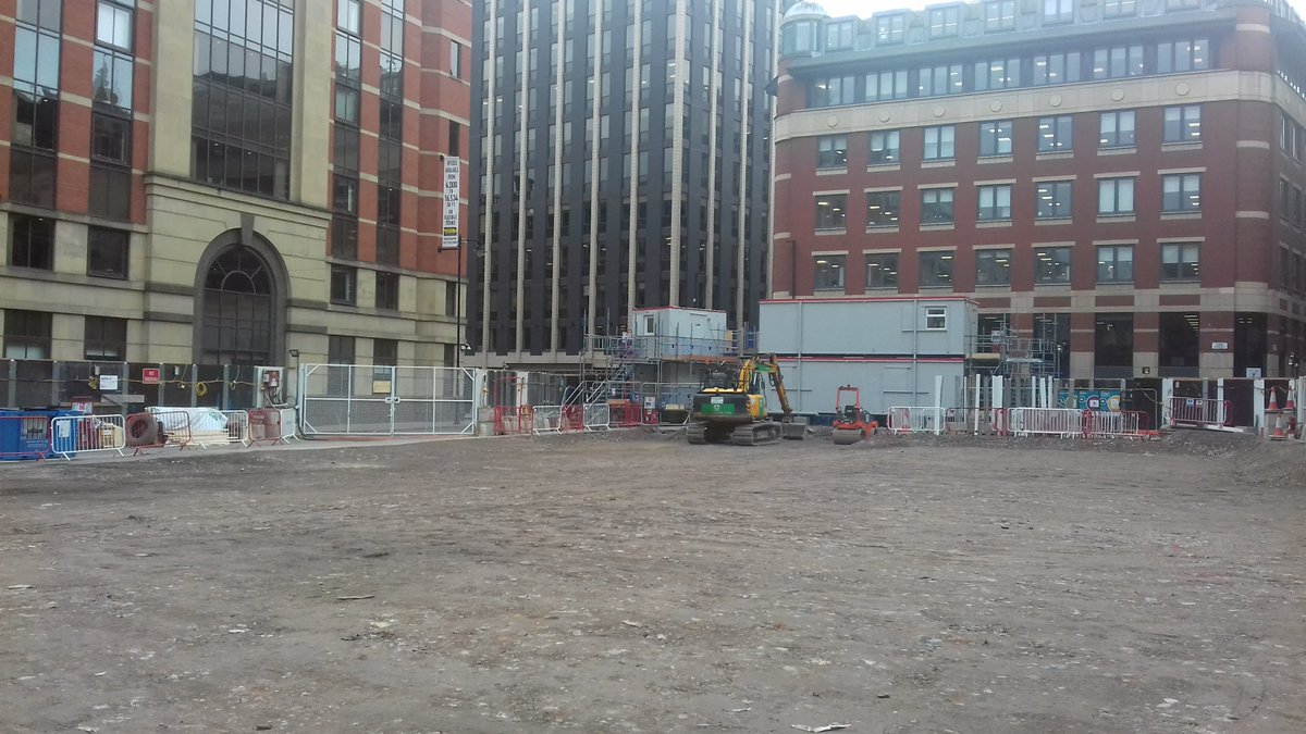 @kierconstruct have completed the demolition of the Oddfellows building on York Street in Manchester.   The site is now ready for the piling to begin #kierMCR #11YorkStreet #loveconstruction