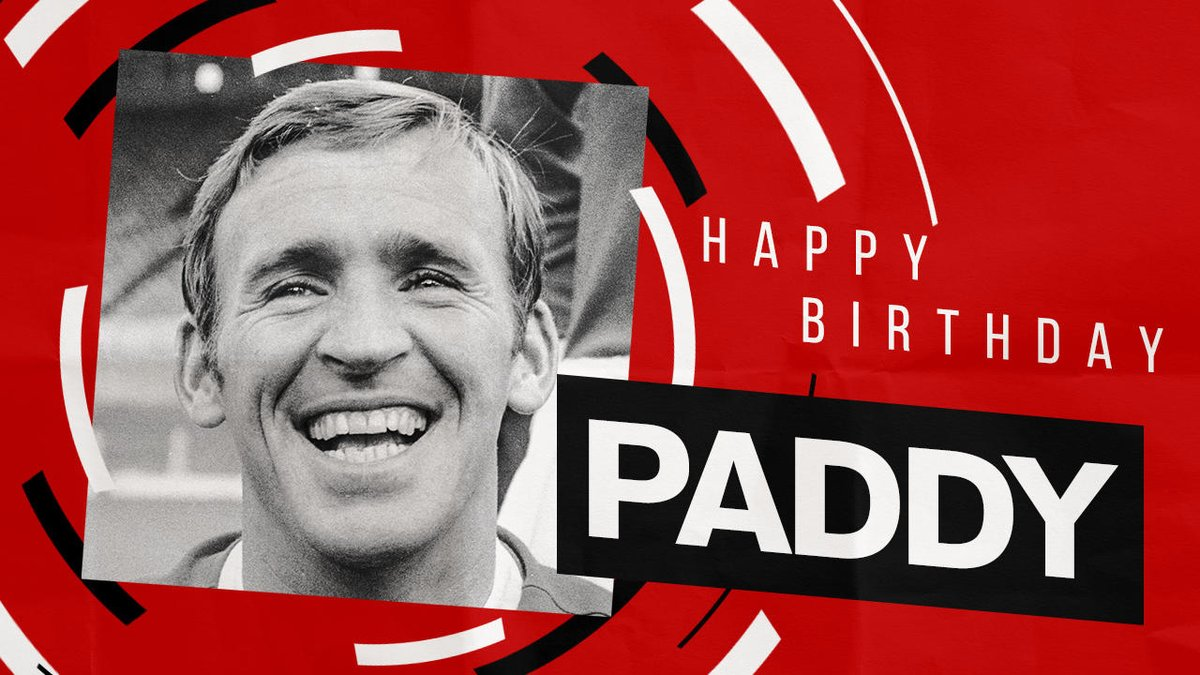 The legend that is Paddy Crerand turns 80 today! 🎉 #MUFC