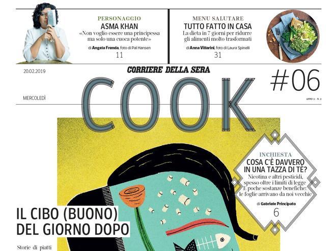 Cook, domani  in edicola gratis con il Corriere: la chef guerriera e le ombre del tè https://t.co/O4AiMPf6qb