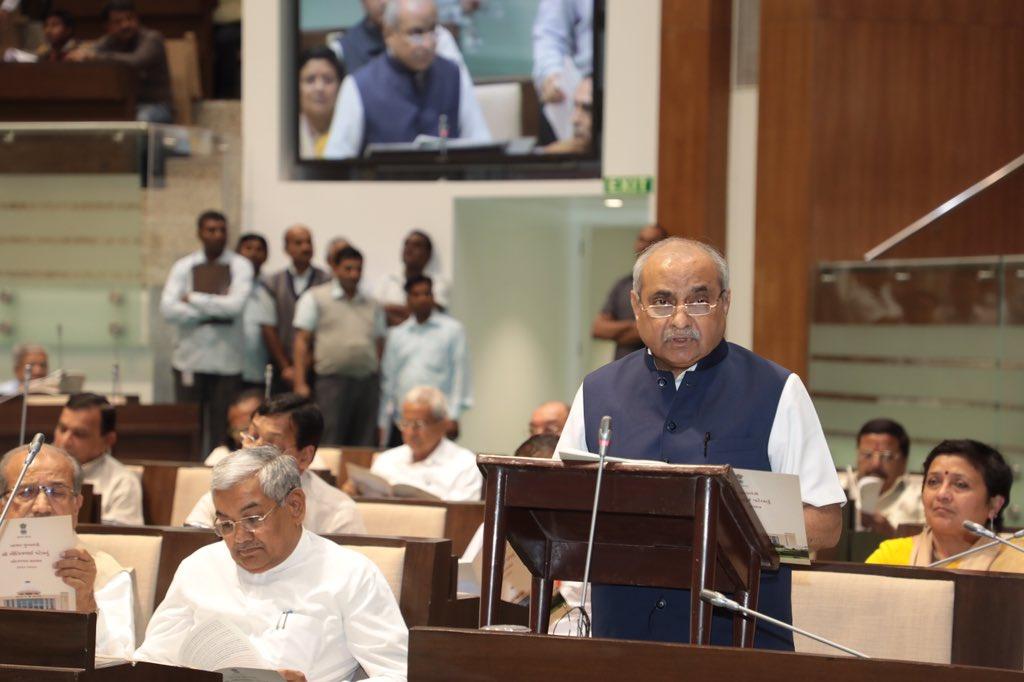 Live: Gujarat budget 2019 ( vote on account )