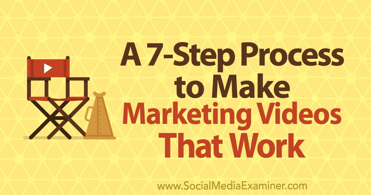 Do you need to work with experts or employees to create marketing videos? Looking for a proven process that results in great content? Learn how to guide experts to deliver talking points you can use in your marketing videos. @SMExaminer #marketing #video 📹https://buff.ly/2GmAHWu