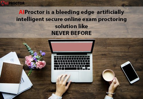 AIProctor is a bleeding edge artificially intelligent secure online exam proctoring solution like never before. #AIProctor #Education #Invigilation #ArtificialIntelligence #Exams #Proctor #Stop #Cheating #Fruad #US #UnitedStates #Texas #Washington #NewYork