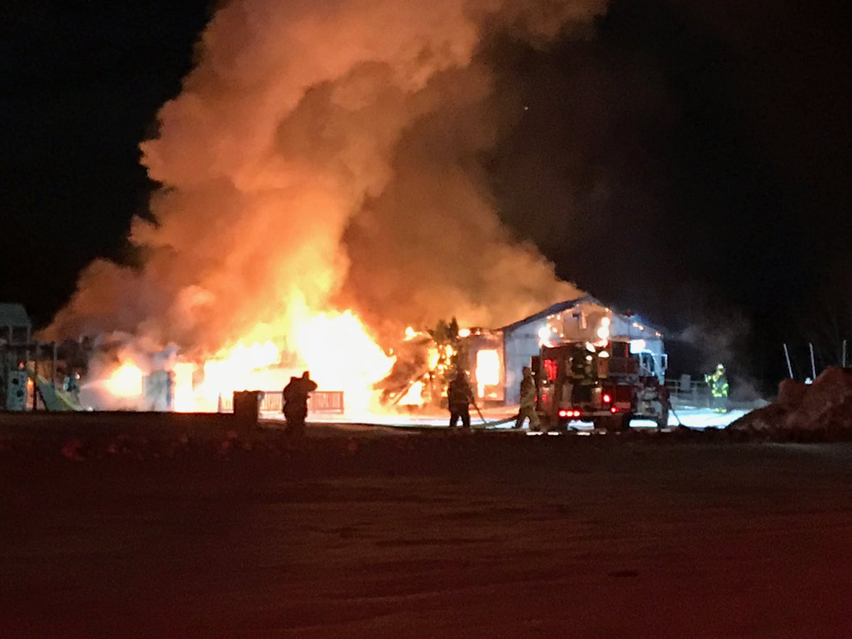 #BreakingNews We are live at a house fire in Montrose Township - multiple fire departments on scene. @JapowiczMike is there giving us updates all morning @nbc25fox66