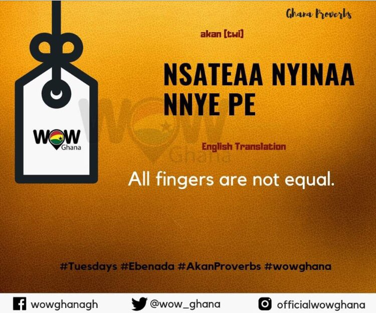 ghanaproverbs hashtag on Twitter