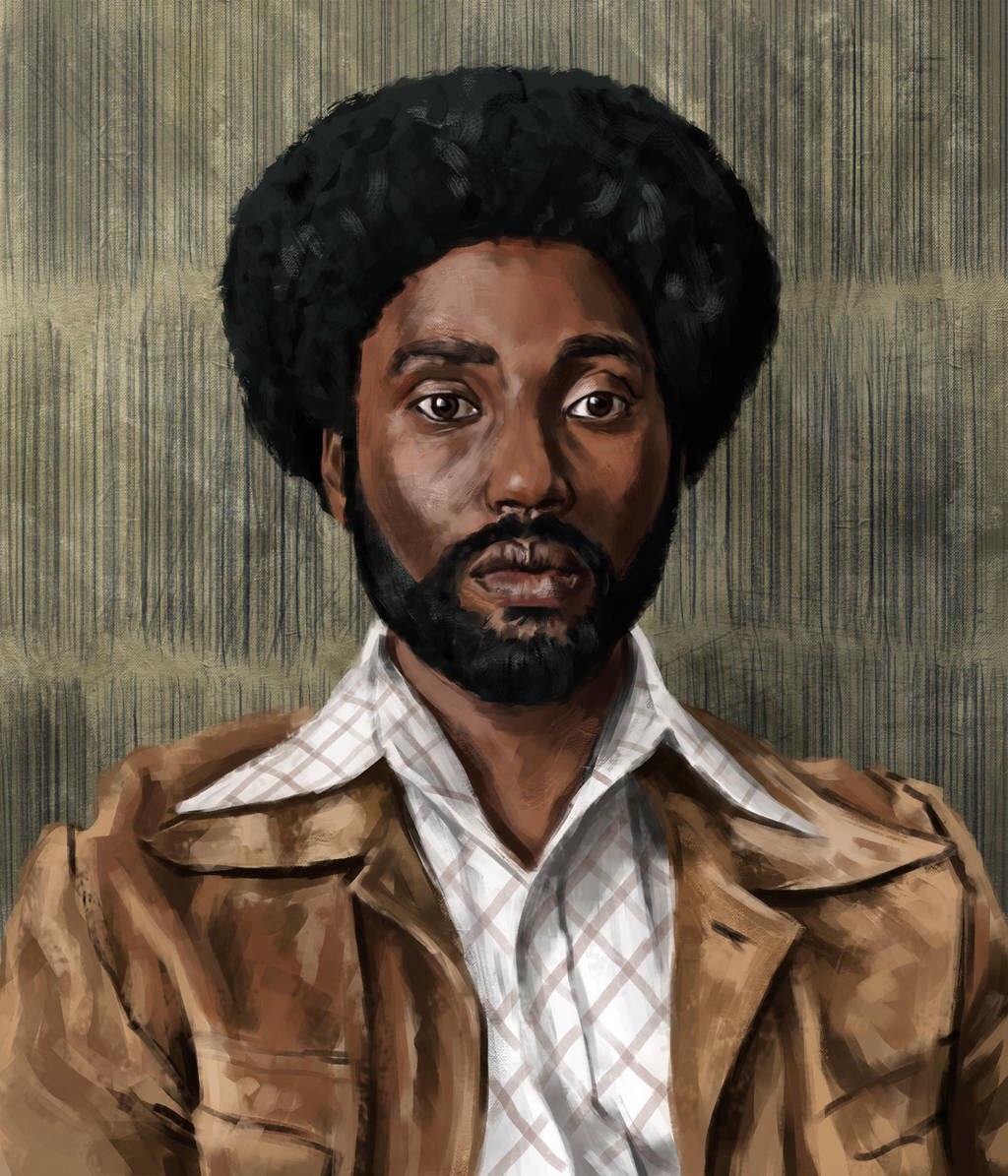 Let's kick off our #OscarSeason with this spectacular portrait of Ron Stallworth (John David Washington) from @BlacKkKlansman by artist @CalebAlonzo   Check out Calebs work here:  https://www. deviantart.com/calebalonzosmi th &nbsp; …   #WeDigOscars<br>http://pic.twitter.com/NH5Q06dLdP