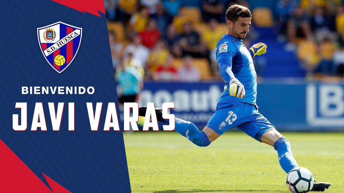 FICHAJE 🔵🔴 | El portero sevillano Javi Varas se incorpora a la @SDHuesca para lo que resta de temporada. ¡Bienvenido, Javi! 🤗  ➕ info 👉 https://sdhu.es/FichaVaras  #VarasNoRebla