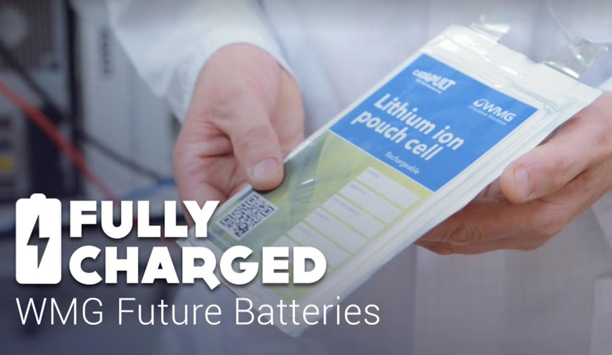 #Batteries There's a new episode of @FullyChargedShw over on our Patreon page: https://www.patreon.com/FullyChargedShow/overview … We got 'behind the scenes' access @wmgwarwick and the results were fascinating. It's also the long-awaited debut of @helenczerski - welcome!