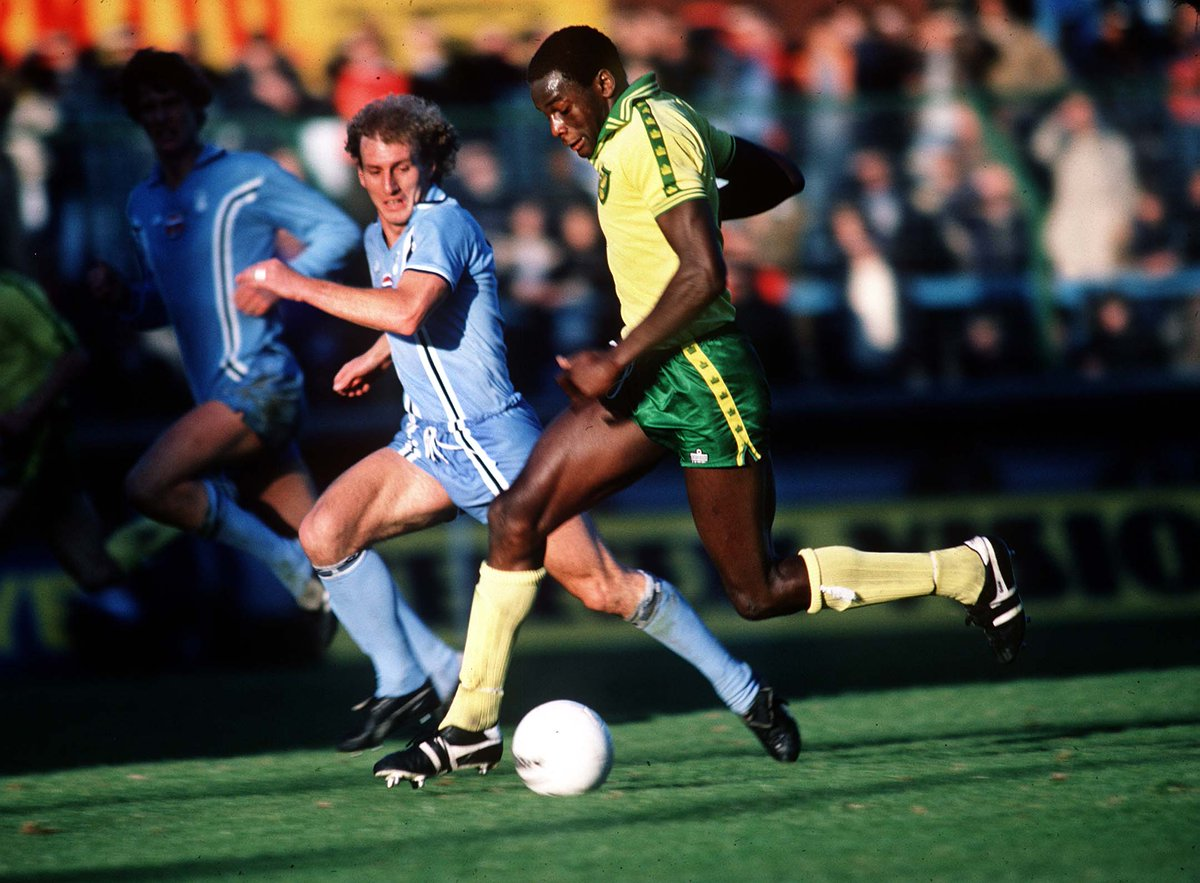 Remembering Justin Fashanu on what would have been his 58th birthday. #ncfc  Rest in peace, Justin. 🏳️🌈