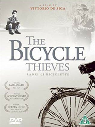 If you don't fancy movies with subtitles, this might change your mind: The Bicycle Thieves (1948). Brilliant! #LadriDiBiciclette pic.twitter.com/L0h7rYUPyr