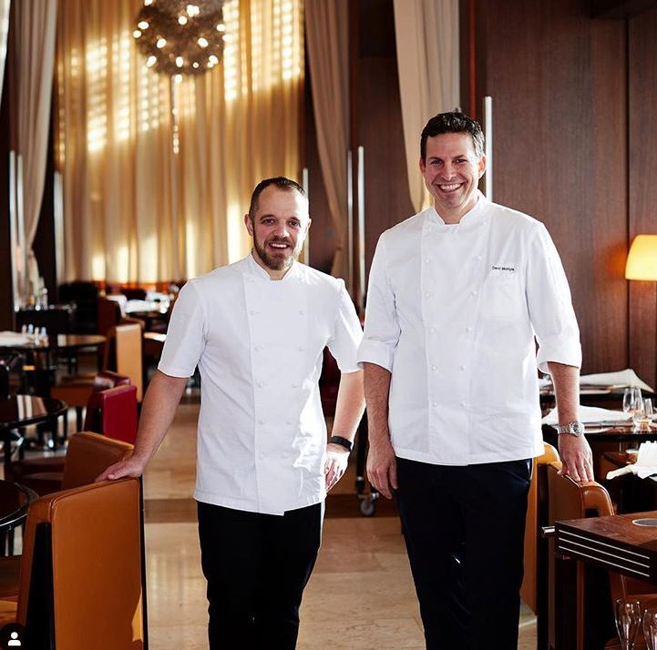 Just under two weeks to go before James Knappett joins our executive chef David McIntyre in the kitchens of CUT at 45 Park Lane! @jamesknappett @bubbledogsKT #foodie #restaurant #45parklane #dcmoments  To book: CUT.45L@dorchestercollection.com +44 (0)20 7493 4545