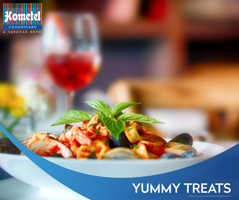 Savor rustic dishes from local, regional and international cuisines at one of the best hotels in Chandigarh. Book your table with us now: 91 172 4299999, +91 9501104032 Or visit: http://bit.ly/2DuEC2V #HometelChandigarh #Food #Foodie