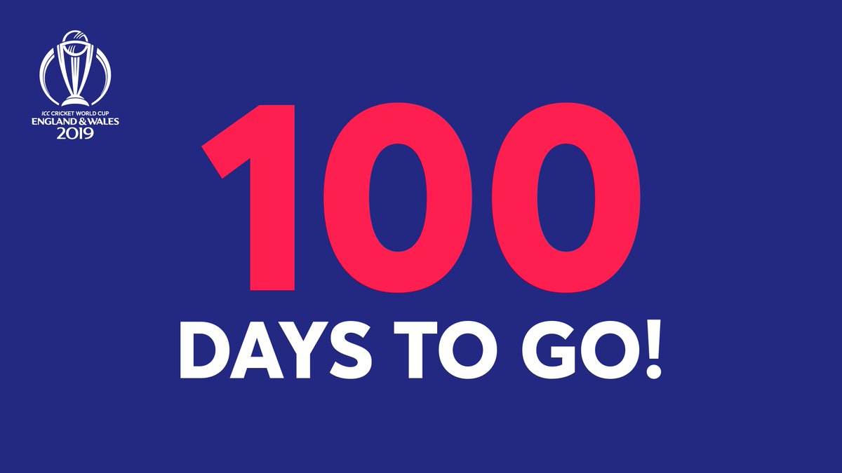 🏏100 days to go until the cricketworldcup #CWC19  #beauty #cute #nice #lifestyle #peac