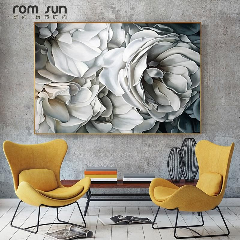 White Rose Canvas Painting from $11.33 (N4,100)#sleekart #digitalart #wallart #walldecor #interiordecor #interiordesign #canvasprints #canvasprintsforsale #beautiful #freeshipping https://buff.ly/2Xbd08R