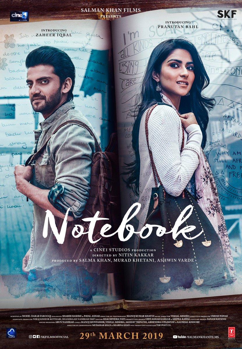 Notebook 2019 Full Hindi Movie Download HDRip 720p