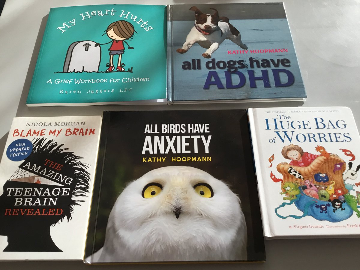 Thank you to our PTA for funding the purchase of a collection of books designed to be shared between the teacher and child to help open a dialogue between them about any worries they might have. #MentalHealthAwareness