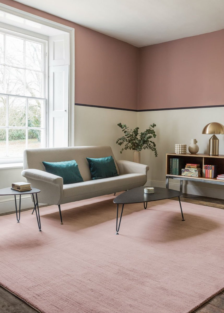 The Rug Company x Farrow & Ball. Discover the collaboration on enki this Tuesday morning: http://ow.ly/WE6h30nJMv6 #enkimaguk #interiordesign