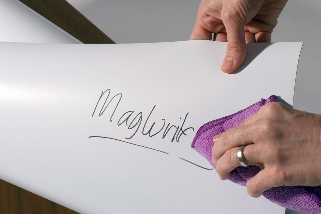 Having a wall you can write on, project on and use magnets on ticks all of the boxes, doesn't it? So when are you planning to use MagWrite Matt? https://magscapes.com/collections/magwrite-wallcoverings/products/magwrite…   #wallart #interiordesign #workplace #architecture #wallpaper #5AlbemarleWay