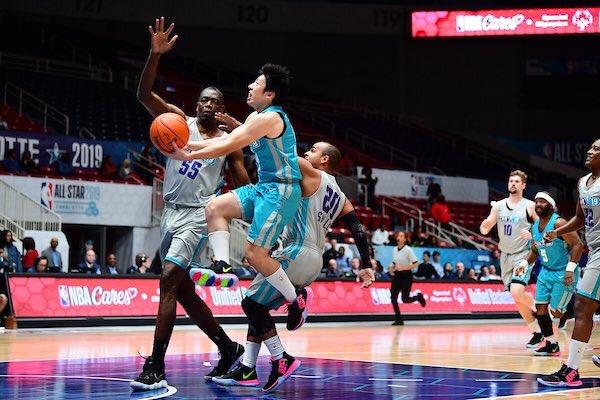 帰国しました‼️ SO日本代表アスリートとして、 NBA Legendと世界のSOアスリートたちとバスケできて本当に楽しかった👍 このような機会を頂きましてありがとうございました。  #スペシャルオリンピックス  #specialolympics  #NBAAllstar2019  #nbacares  #シャーロット