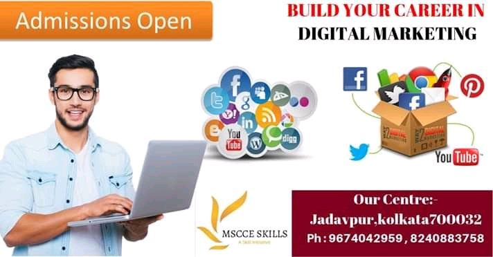 FREE CAREER COUNSELLING PROGRAM.100% placement assistance.MAKE YOUR CAREER IN DIGITAL MARKETING:- #DigitalMarketing #TwitterSearch #socialenvyco #follow #amazing For More Information- http://www.mscceskills.com