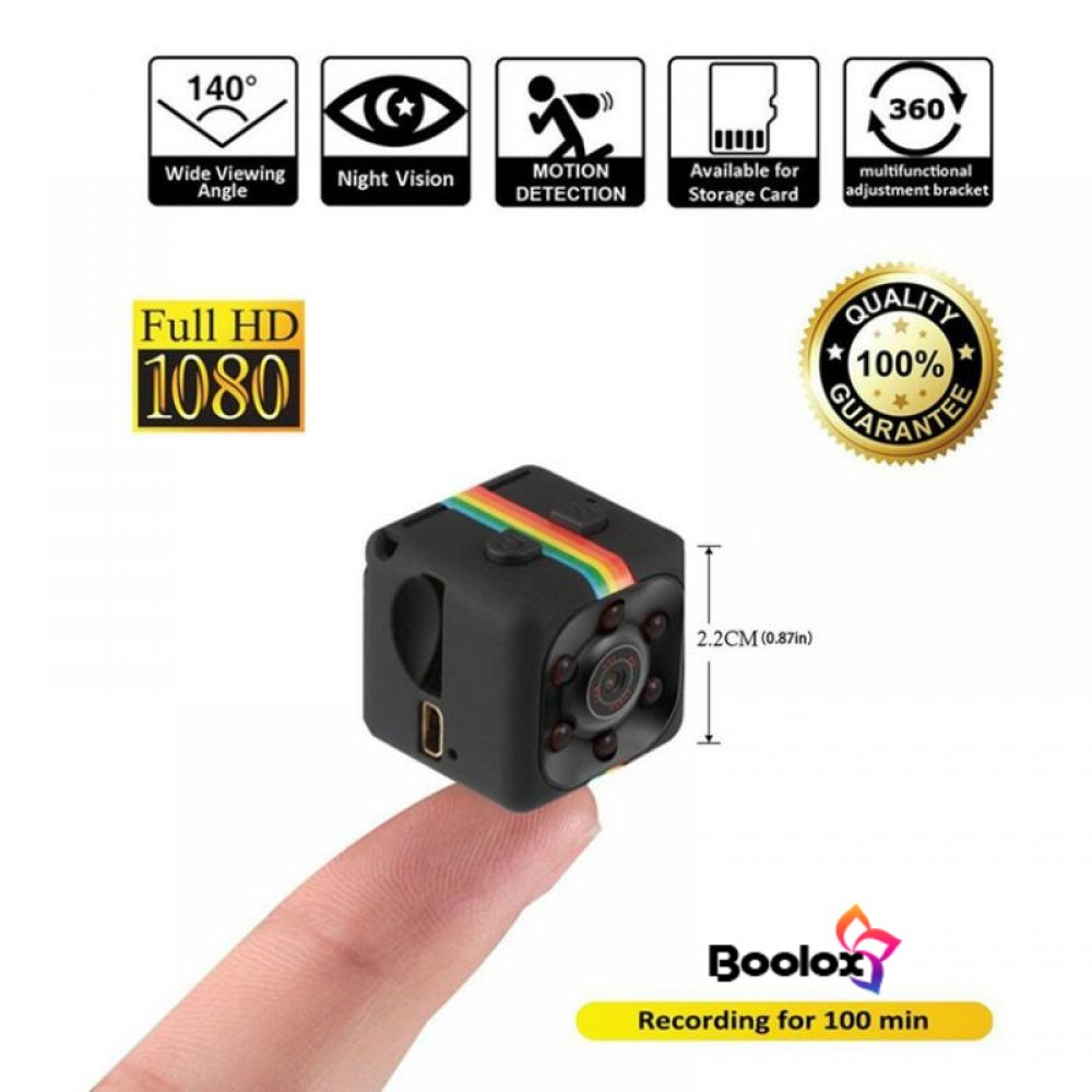 #fun #lovely SQ11 Mini Camera 1080P HD Camcorder Lithium Battery Baby Monitor Voice Video Recorder Sports DV Camera Support TF Card