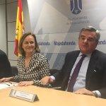 Image for the Tweet beginning: Esta mañana, en el Ayuntamiento