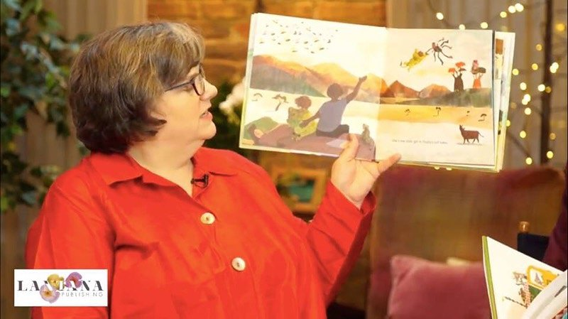 COUNTDOWN!  Maisie's Scrapbook was featured on KidLit TV (live in #NYC). . . In 15 days, you will find copies of #MaisieScrapbook in several bookstores across the #world. Get copies of this book for your #family/#friends.  Pictured is Ellen Everett Myrick [Repost].  #readers