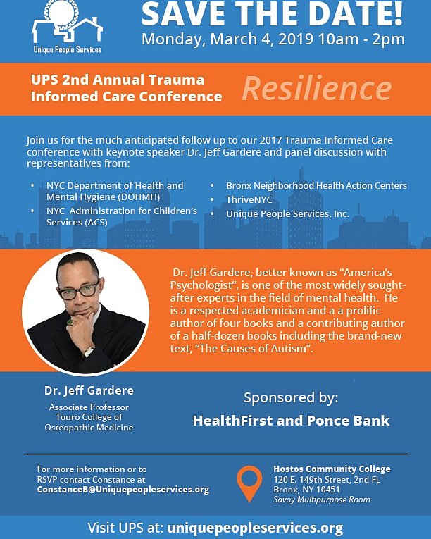 If you're in NYC this is a must attend event to help individuals recognize and combat trauma.  This is the 2nd conference I have coordinated on the topic and trust me you don't want to miss it. RSVP today, only 30 seats left  https://www.eventbrite.com/myevent?eid=55760685712…   #TraumaInformedCareTuesdays