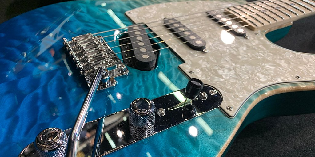 Time to share your #TeleTuesday pics with us.  Here's ours...  #andersonguitarworks