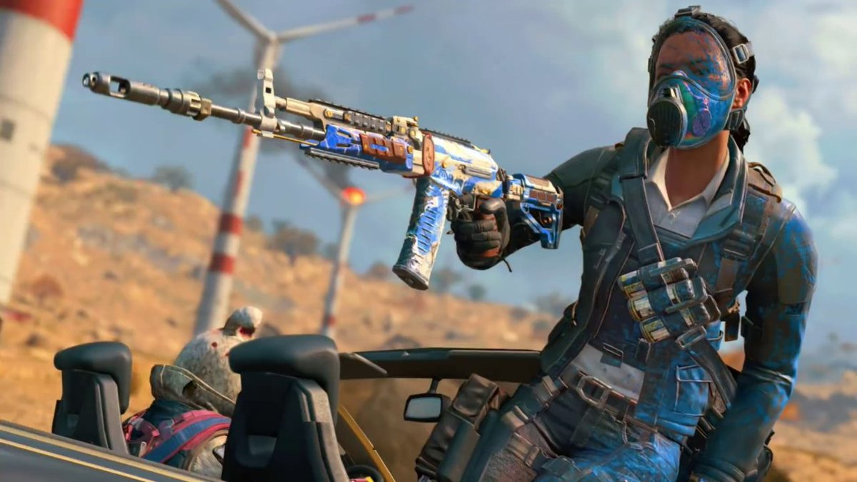 Get a look at Black Ops 4's Operation Grand Heist, which marks the return of Outrider as a Specialist, a new Blackout destination, and more.   https://t.co/DyZq4ZlIUa