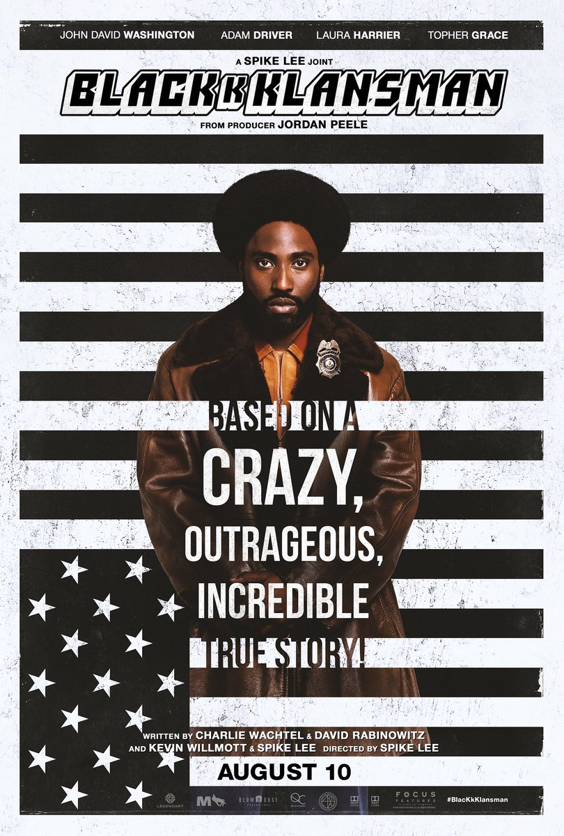This week on #TuesdaysWithMike I'm recommending the film @BlacKkKlansman! John David Washington is absolutely brilliant in his role as Ron Stallworth (First African-American detective to serve in the Colorado Springs PD) - Based off a true story! #BlackHistoryMonth <br>http://pic.twitter.com/ykHD2THCVL