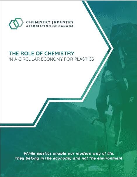 Read how Canada's chemistry industry is committed to a #zeroplasticwaste future in our new report: The Role of Chemistry in a Circular Economy for Plastics https://bit.ly/2V6YBbT