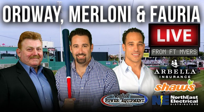 Spring Training is underway and @OMFonWEEI will be down in Fort Myers starting tomorrow! Brought to you by @ArbellaIns @shaws @NorthEastneedco & Norfolk Power Equipment #ad