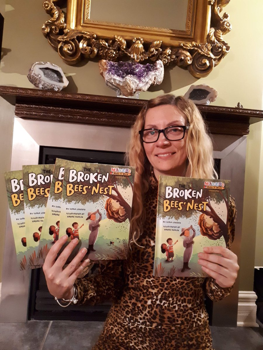 I'M SO EXCITED!!  My author copies came in for my new book published by @KanePress! So proud to have written another  #STEM book. It will be officially released in April. Thanks @hallojen and @JulEdits for the opportunity!! #writingcommuity  #kidlit #writerscommunity #picturebook
