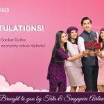Image for the Tweet beginning: Congratulations @dutt_sankar on winning the