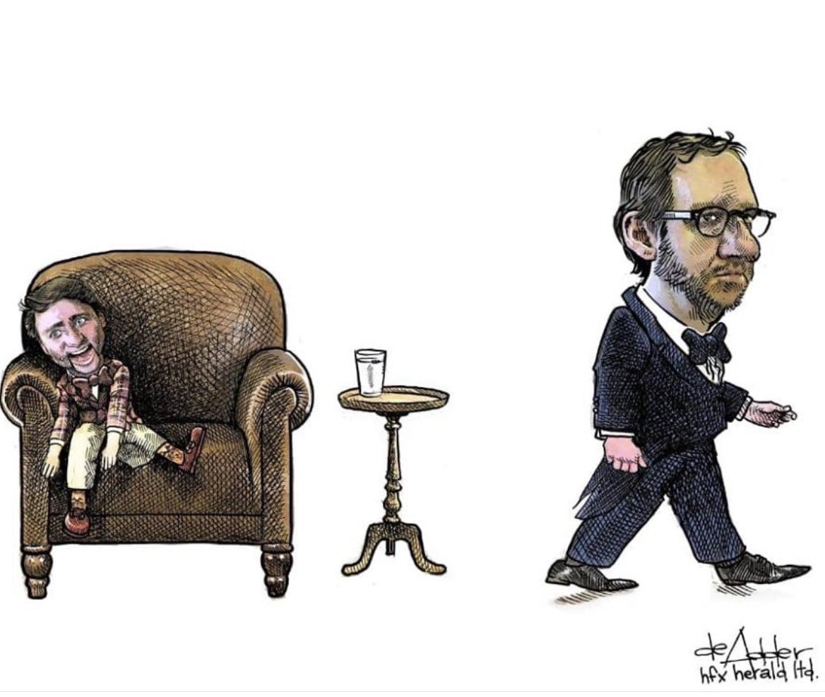 Image result for political cartoons puppeteer gerald butts resigns
