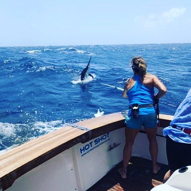 Gold Coast, Aus - Hot Shot went 11-12 on Black Marlin.
