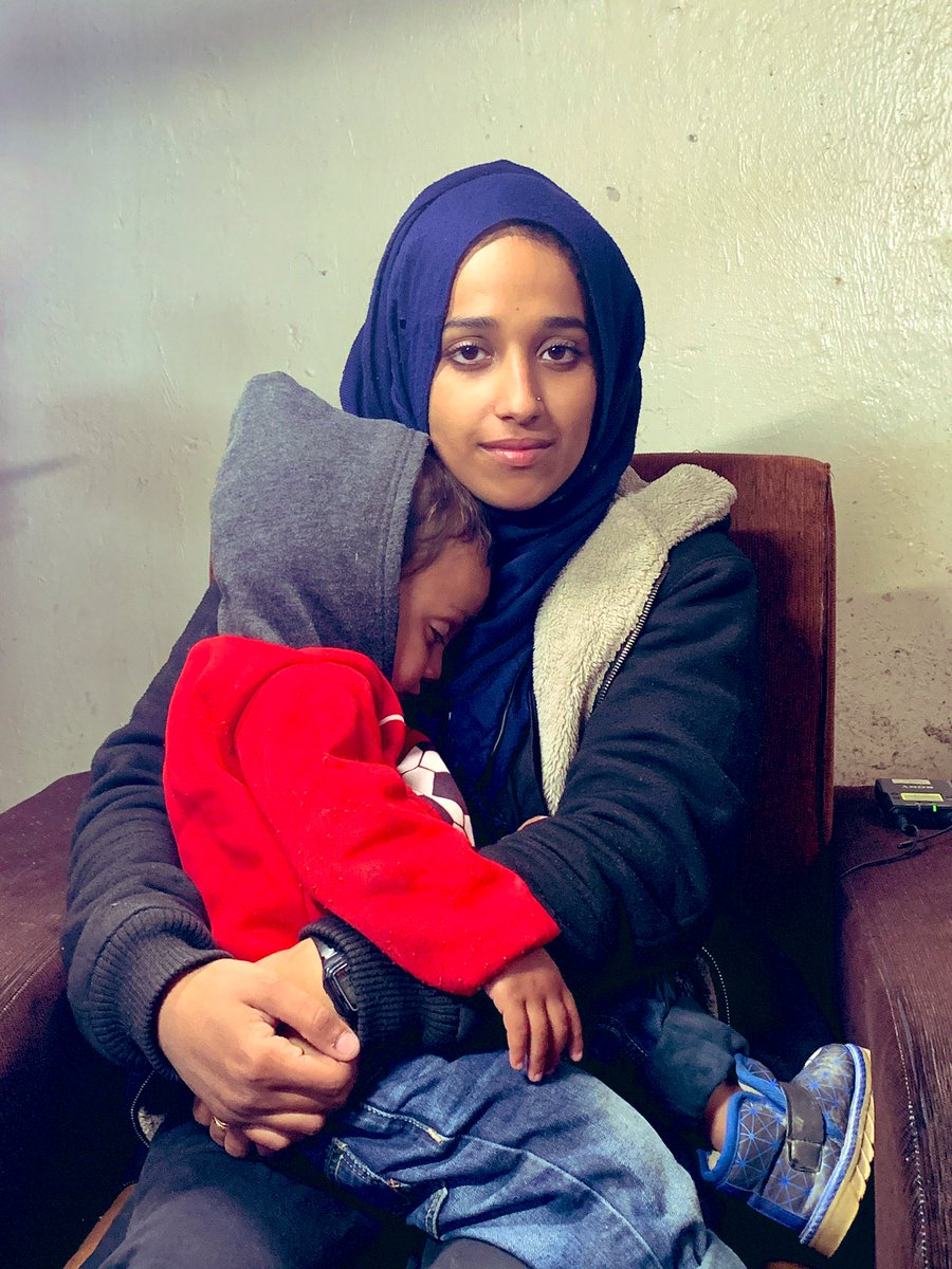 Tonight on @ABCWorldNews, Hoda Mothana, the American young woman who went to join ISIS, gives her first TV interview since fleeing the so called Islamic State a month ago  She's alone with her 18 month old son in a Syrian refugee camp. Full of regret, she's begging to come home