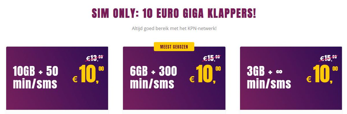 test Twitter Media - SUPERSNEL 4G SIM ONLY: bijvoorbeeld 3 GB/maand 256 Mbps mobiel internet + ONBEPERKT BELLEN via het beste netwerk(KPN); Slechts € 10,00 /maand; GEEN aansluitkosten; € 10,- korting op 1e factuur via: https://t.co/GSVIIArIbz #amsterdam #rotterdam #utrecht #denhaag #Eindhoven https://t.co/n0amZ5hzZU